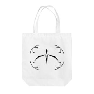 パフィオペディラム~Geometric Botany Tote bags