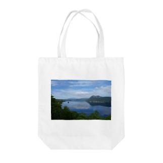 夢の摩周湖 Tote bags