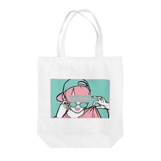 not CHILD <illust ver> Tote bags