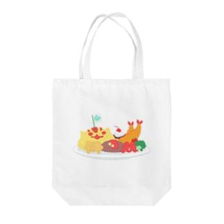 おこさまランチ Tote bags
