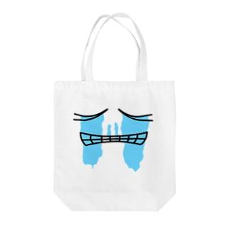 号泣 Tote bags