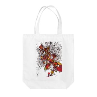 トリの細胞分裂 Tote bags