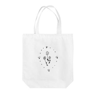 徒波のFLOWER Tote bags