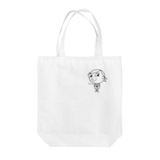 ジロリ    〜charlie 〜   モノクロver. Tote bags