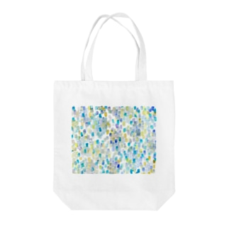 雨色rectangle Tote bags