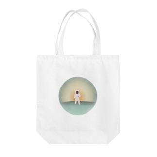 宇宙飛行士 Tote bags