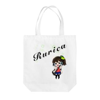 るりかちゃん Tote bags