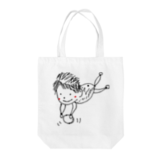 kyonophotoの玉乗りぽやぽやん Tote bags