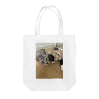 kanafoyのだるいにゃんず Tote bags