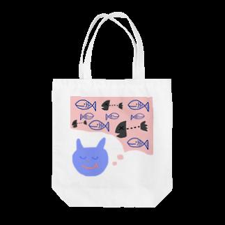 ちえのねこ妄想中 Tote bags