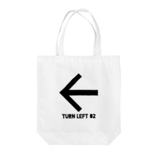 viofranme.のTURN LEFT 02 Tote bags