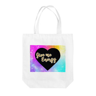 DOLUXCHIC RAYLOのGive me energy Heart  Tote bags