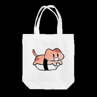 ゆゆ(yu_eu)のTHAT CAT SUSHI Tote bags