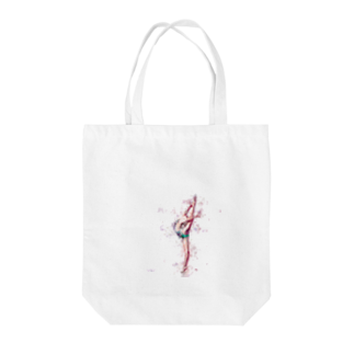 lilli-starlingの新体操ガール バタフライ トート Tote bags