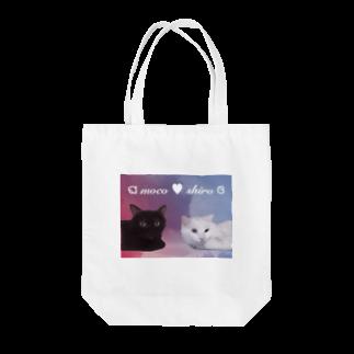 tinamagicalのmoco shiro Tote bags