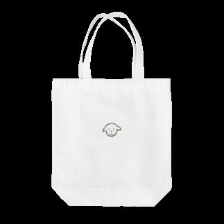 kkk1515の普通のいぬ Tote bags