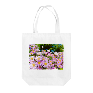 DOLUXCHIC RAYLOのPink flowers  Tote bags
