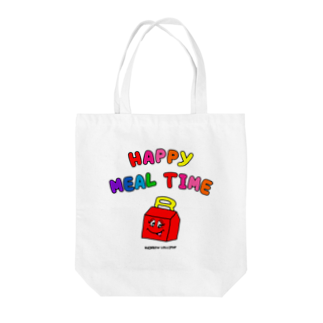 RAINBOW LOLLIPOPのHAPPY MEAL TIME Tote bags