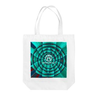 awake341 Tote bags