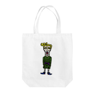 STRONGのパティバ Tote bags
