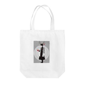林檎くんグッズ Tote bags