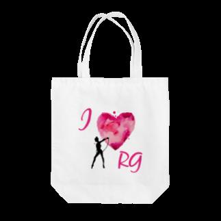 lilli-starlingのI♡RG フープ Tote bags