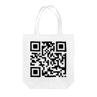 QRコード Tote bags