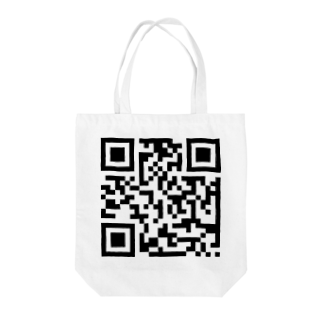 ___Ru____のQRコード Tote bags