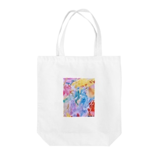 palette.2(縦ver.) Tote bags
