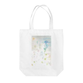 awairo music Tote bags