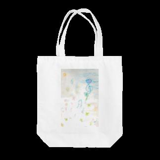 アートショップ molkoraのawairo music Tote bags