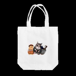 POLEPOLE〜北の森のお絵描き屋さん〜のストリート系ハムスター Tote bags
