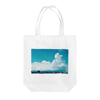夏休み初日 Tote bags