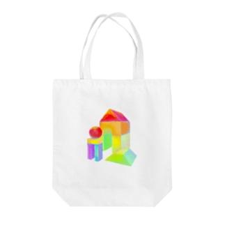 積み木 Tote bags