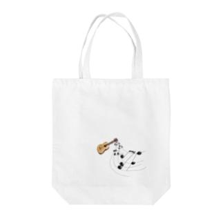 奏でるギター フルカラー② Tote bags