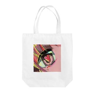 美少女♡血♡涙♡ Tote bags