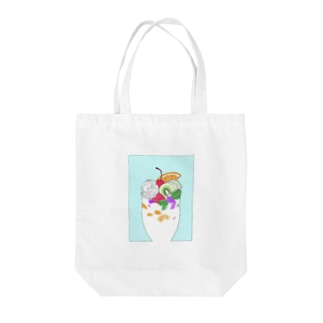 fruit punch Tote bags