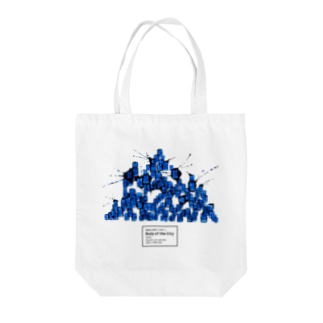 Body of the City (BLUE) Tote bags