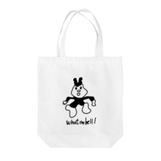 NIPPASHI SHOP™のWhat the hell! Tote bags