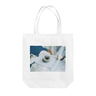 まる 。 🍩 Tote bags