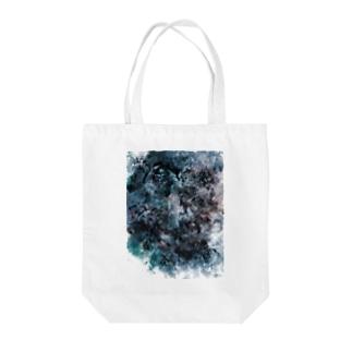 影(白) Tote bags