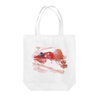 淡雪タルト(白いちごタルト) Tote bags