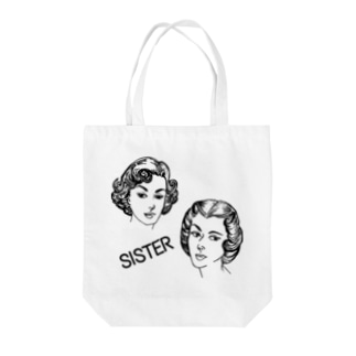 SISTER Tote bags