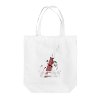 アブダクショングラフィックシリーズ Tote bags