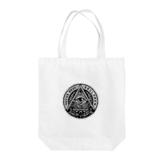 プロビデンスの目グラフィックシリーズ Tote bags