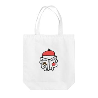 りんごぼうや Tote bags