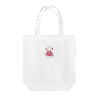 sieお人形トートバッグ Tote bags