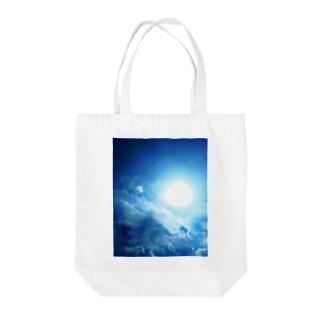 龍神☆アップ Tote bags