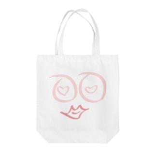 らぶ〜 Tote bags