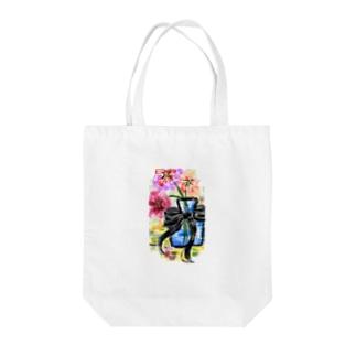 オリジナルイラスト Tote bags